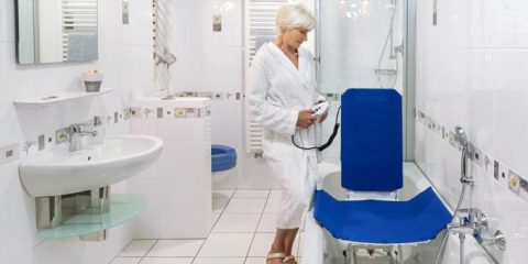 Sollevatore vasca disabili e anziani